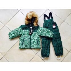 Теплый зимний мембранный комплект Valianly цвет Ocean Green
