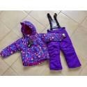 Теплый зимний мембранный комплект Valianly Фиолетовые Цветочные Звезды (Violet Flower Stars).