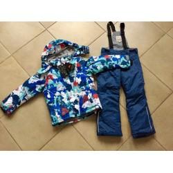Теплый зимний мембранный комплект Valianly цвет Blue North Pole