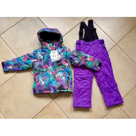 Теплый зимний мембранный комплект Snowest Фиолетовый Сад (Violet Garden)