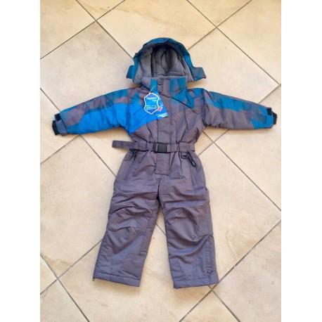 Теплый зимний мембранный комбинезон OKWAY (YDI) Серый Голубой (Grey Blue)