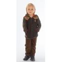 Курточка стёганная с трикотажными рукавами
