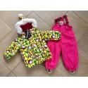 """Теплый зимний мембранный комплект Valianly модель """"Звездочет"""" цвет Yellow Angry Birds"""
