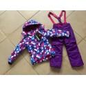 Теплый зимний мембранный комплект Valianly цвет Violet Chamomile