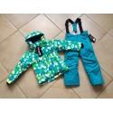Теплый зимний мембранный комплект Valianly цвет Green Chamomile