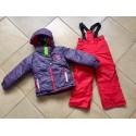 Теплый зимний мембранный комплект Peluche et Tartine (Канада) Глубокий Фиолетовый (Deep Violet)