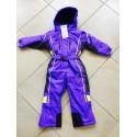 Зимний слитный мембранный комбинезон Kalborn Глубокий Фиолетовый (Deep Violet)