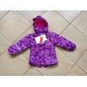 """Демисезонная мембранная куртка Tornado цвет Cute Violet Birds """"Милые фиолетовые птички"""""""