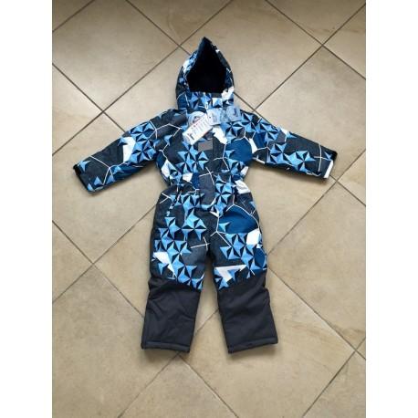 Зимний слитный мембранный комбинезон Disumer (Snowest) цвет Blue Stars голубые Звезды