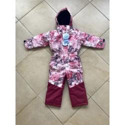 Зимний слитный мембранный комбинезон Disumer (Snowest) цвет Pink Miracles Розовые Чудеса