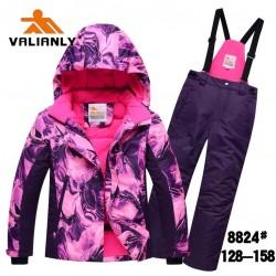 Зимний мембранный комплект Valianly цвет Pink Flame (Розовое Пламя)