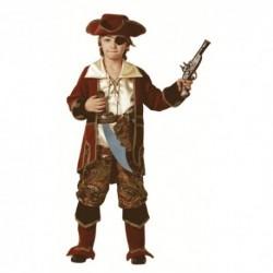 Карнавальный костюм Капитан пиратов коричневый