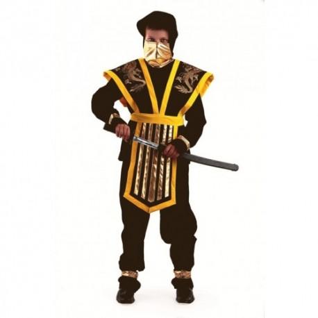 Карнавальный костюм Мастер Ниндзя (цвет желтый)