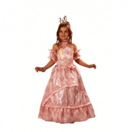 Карнавальный костюм Золушка-Принцесса (ц вет розовый)