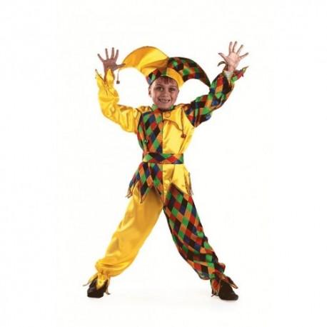 Маскарадный костюм Шут-Карамболь