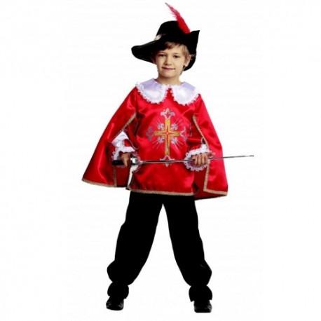 Маскарадный костюм Мушкетёр красный
