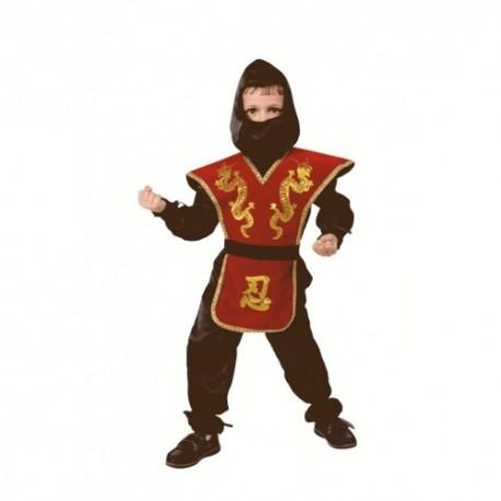 Маскарадный костюм Ниндзя красный