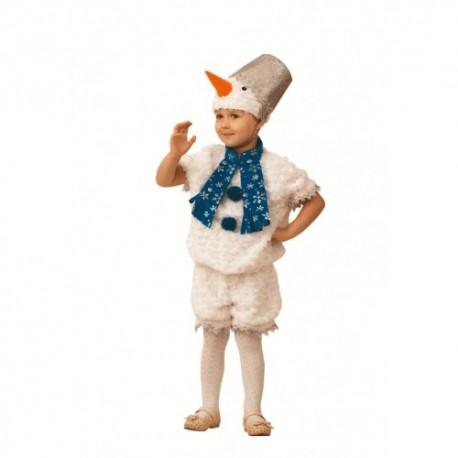 Маскарадный костюм Снегвичок Снеговишка
