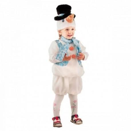 Маскарадный костюм Снеговичок