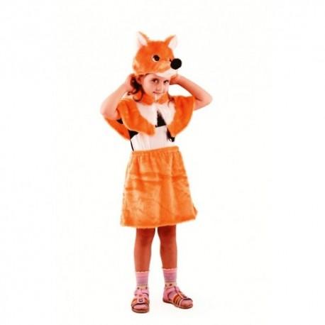 Маскарадный костюм Лисичка-сестричка
