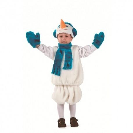 Маскарадный костюм Снеговик