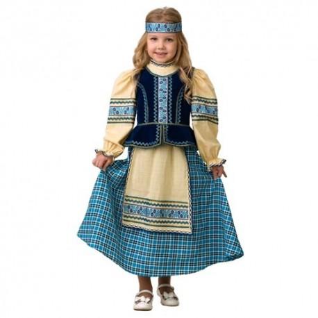 Маскарадный костюм Народный костюм (девочка)