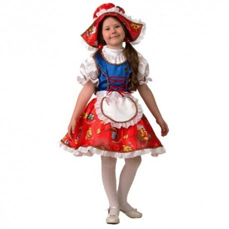 Маскарадный костюм Красная шапочка сказочная