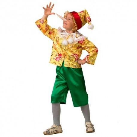 Маскарадный костюм Буратино сказочный