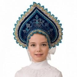 Маскарадный костюм Кокошник Полярное сияние