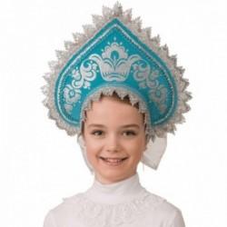 Маскарадный костюм Кокошник Узорная