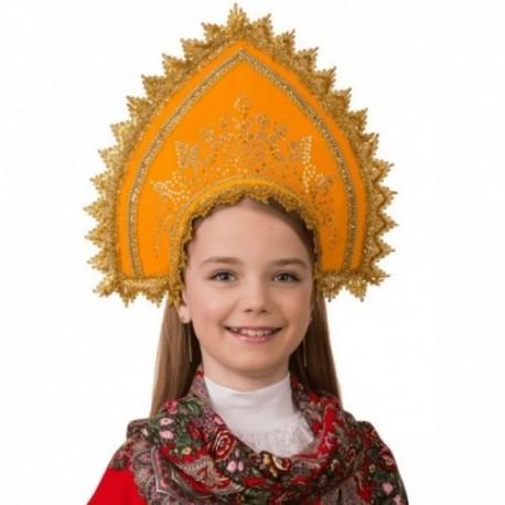Маскарадный костюм Кокошник Зорюшка