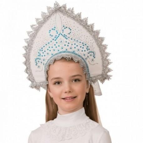 Маскарадный костюм Кокошник Ледяная