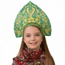 Маскарадный костюм Кокошник Царская