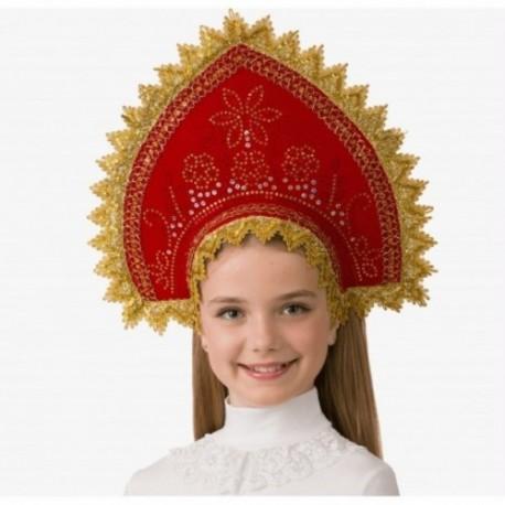 Маскарадный костюм Кокошник Боярушка