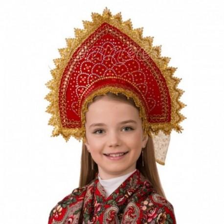 Кокошник Сказочная (для детей) 5412