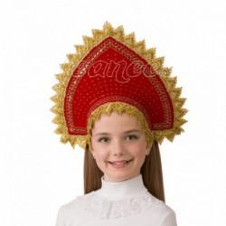 Кокошник Лучистая (для детей) 5413