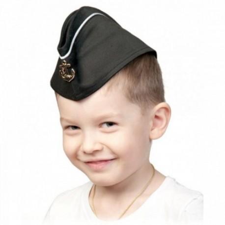 Пилотка ВМФ детская с кантом 5250