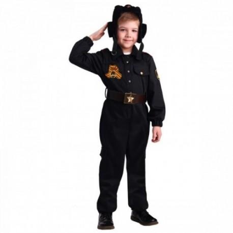 Детский костюм Военный танкист