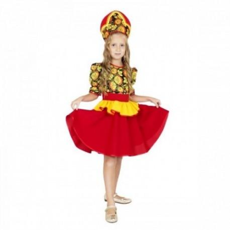 Хохломской сувенир детское платье