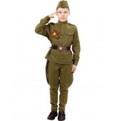 Детский военный костюм 2032 к-18 Солдат
