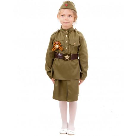 Детский военный костюм Солдатка 2033 к-18