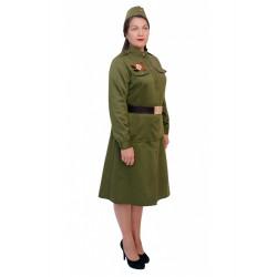 Взрослый военный костюм Солдатка