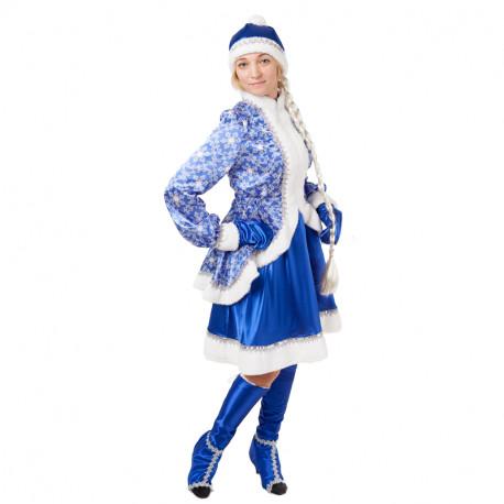 Взрослый костюм Снегурочка Сказочная