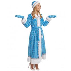 Взрослый костюм Снегурочка