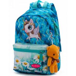 Рюкзак детский SkyName 1101 + брелок мишка