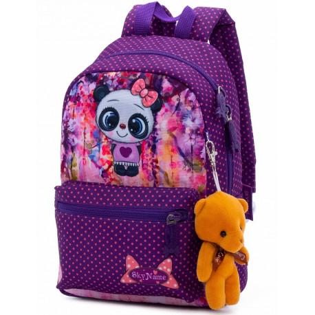 Рюкзак детский SkyName 1103 + брелок мишка