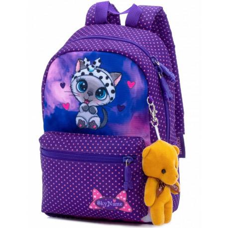 Рюкзак детский SkyName 1107 + брелок мишка