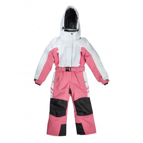 Зимний мембранный комбинезон Kalborn цвет White Pink Winter