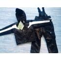 Зимний мембранный комплект Spyder цвет черный